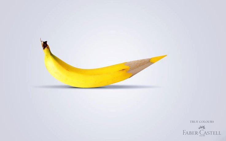 prefocus-faber-castell-colored-pencils-creative-advertising-imagery-strategy-banana