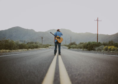 Arizona hitchhiking Musician Advertisement