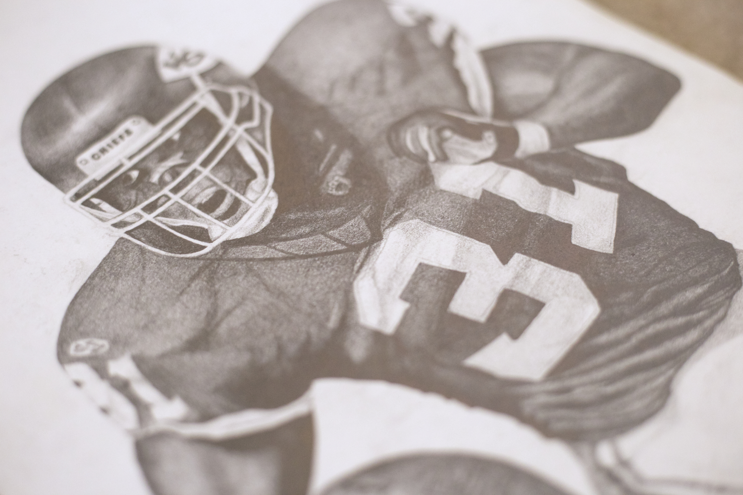 sketch-artist-for-hire-phoenix-az-pencil-drawing-of-priest-holmes-nfl-football-artwork