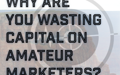 Why Are You Wasting Money on Amateur Marketers?