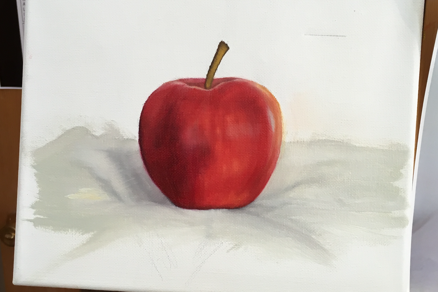 local-sketch-artist-and-oil-based-painter-for-hire-in-phoenix-az-apple-painting-on-eisel